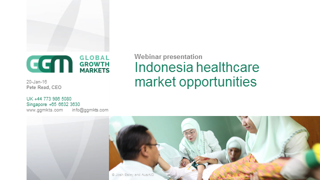 Indonesia healthcare market opportunities