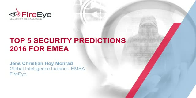 Security Predictions for 2016