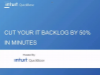 Cut Your IT Backlog by 50% in Minutes
