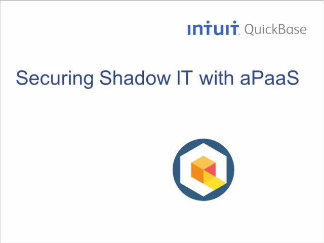 Secure Shadow IT with aPaaS
