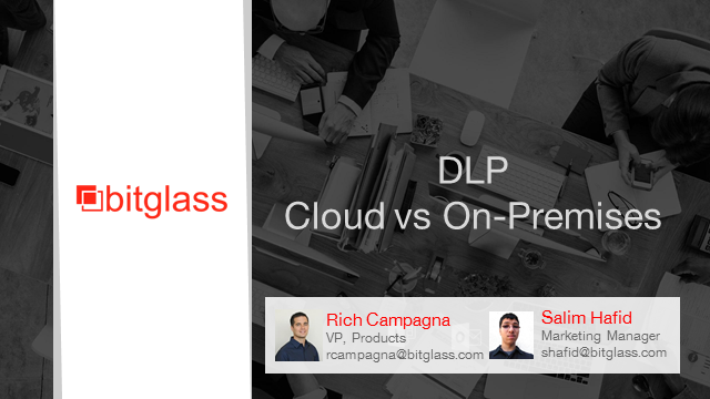 Data Leakage Prevention: Cloud vs On-Premises