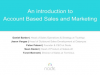 Introduction to Account-based Sales and Marketing