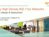 Very High Density 802.11ac Design and Deployment Basics (Part 1)