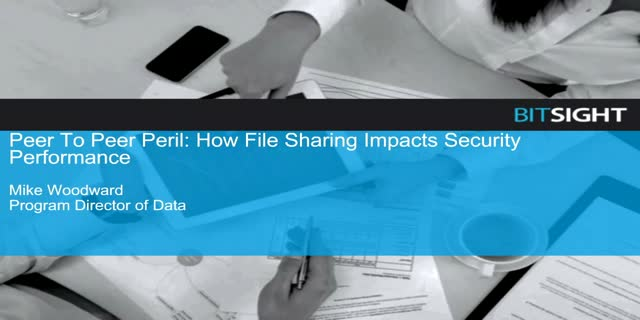 Peer To Peer Peril: How File Sharing Impacts Security Performance