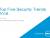 Top Five Information Security Trends for 2016