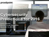 Cybersecurity Predictions for 2016: Targeting the human factor