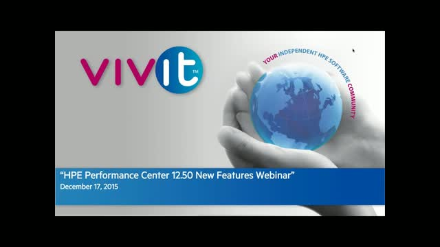 HPE Performance Center 12.50 New Features Webinar