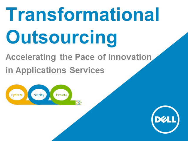 Transformational Outsourcing – An Accelerated Approach to Deliver Business Goals