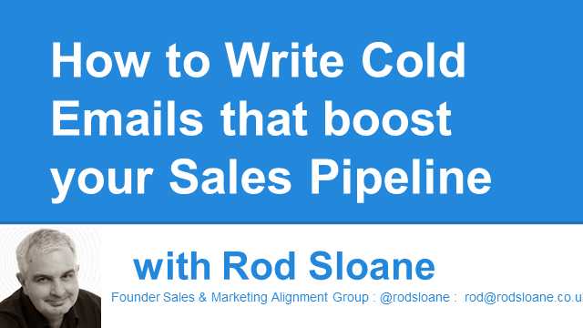 How to Write Cold Emails that Boost your Sales Pipeline