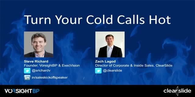 Turn Your Cold Calls Hot