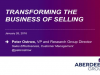 Transforming the Business of Selling