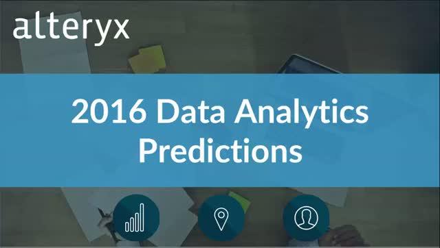 2016 Data Analytics Predictions