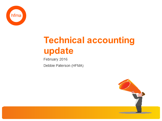 Technical Accounting Update, February 2016