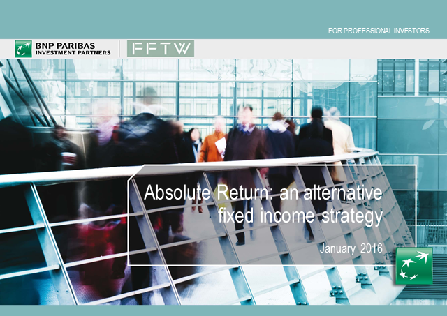 Absolute Return: An alternative fixed income strategy