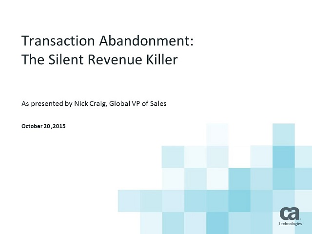 Card Issuer Series: Shopping Cart Abandonment: The Silent Revenue Killer