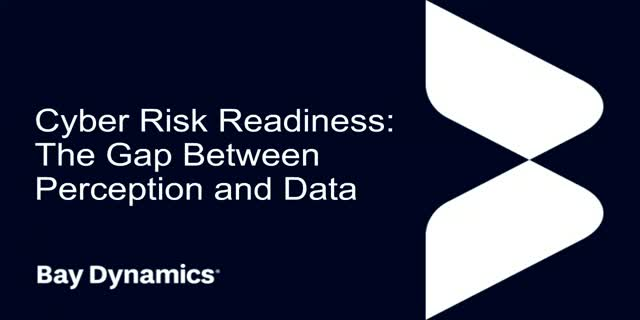 Cyber Risk Readiness – The gap between perception and data