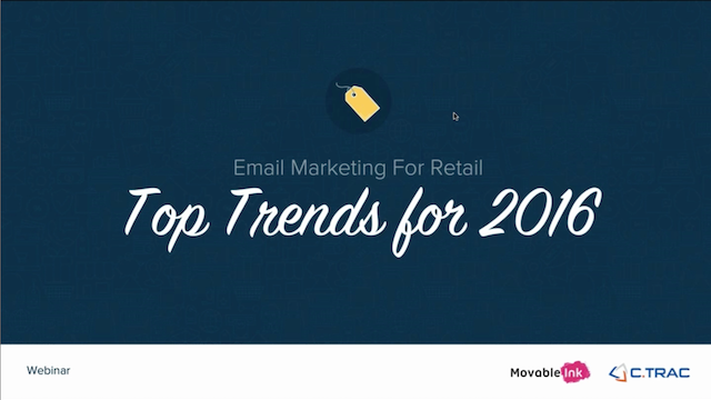 Email Marketing For Retail: Top Trends for 2016