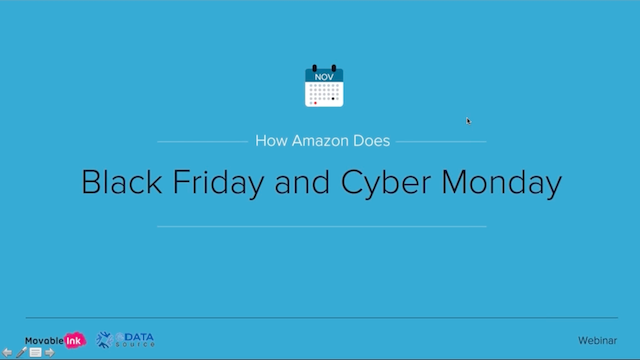 How Amazon Does Black Friday and Cyber Monday