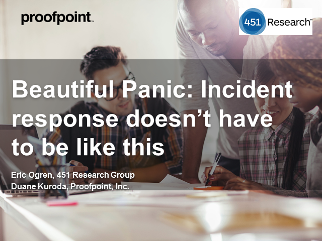 Beautiful Panic: Incident response doesn't have to be like this