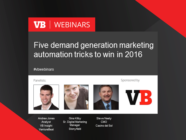 Five demand generation tricks to try in 2016