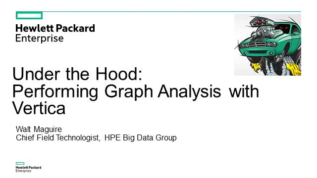 Under the Hood: Performing Graph Analysis with Vertica