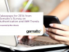 Takeaways for 2016 from Gemalto's Survey on Authentication and IAM Trends