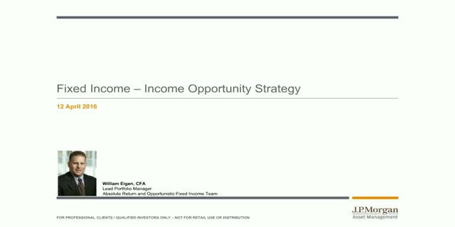 J.P. Morgan Income Opportunity Strategy