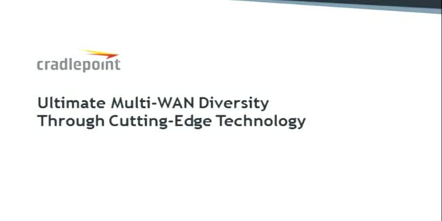 Ultimate Multi-WAN Diversity Through Cutting-Edge Technology