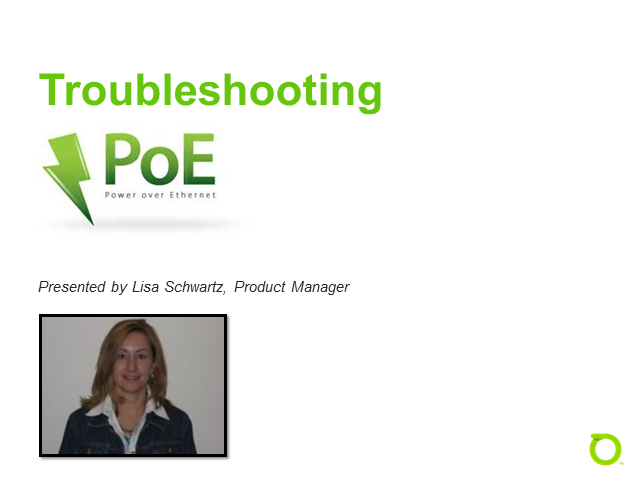 Power over Ethernet (PoE) Administration and Troubleshooting