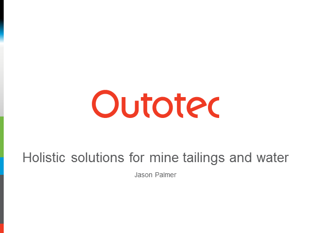 Holistic solutions for mine tailings and water