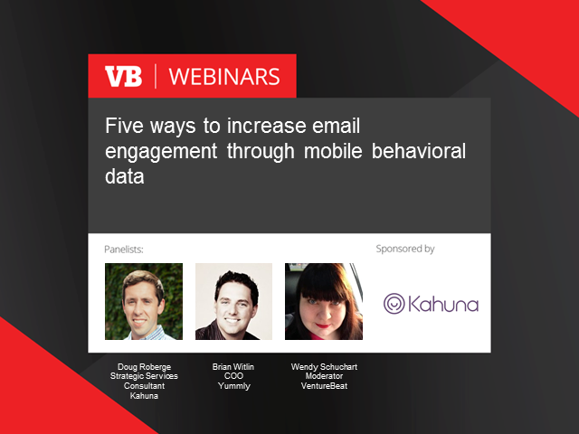 Five ways to increase email engagement through mobile behavioral data