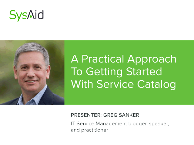 A Practical Approach to Getting Started with Service Catalog