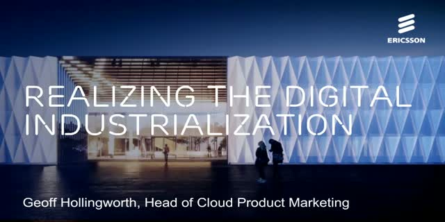 Realizing the Digital Industrialization