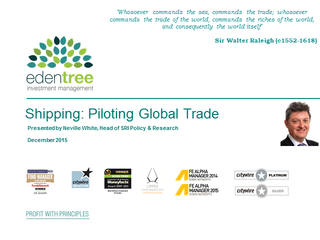 Shipping: Piloting Global Trade