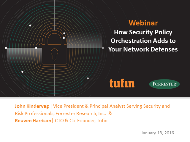 How Security Policy Orchestration Adds to Your Network Defenses