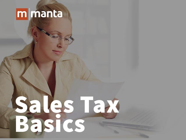 Sales Tax Basics for Small Business Owners