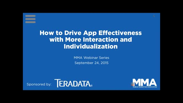 How to Drive App Effectiveness