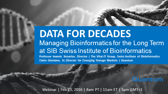 Data for Decades: Managing Bioinformatics for the Long Term at SIB