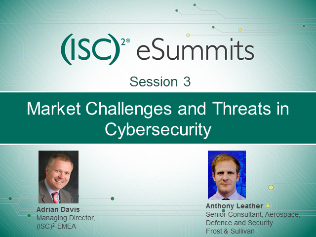 eSummit Session 3: Market Challenges and Threats in Cybersecurity