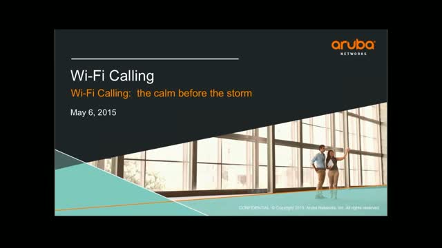 Wi-Fi Calling: The Calm Before the Storm (Part 2 of 2)
