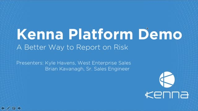 Kenna Platform Demo: Your Risk Revealed