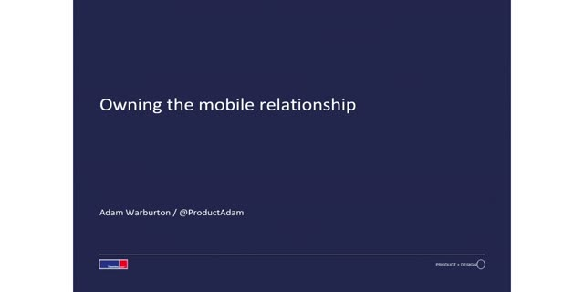 Owning The Mobile Relationship - Delivering Success On Mobile At Travelex