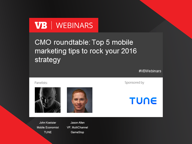 Top 5 mobile marketing tips for rocking your 2016 strategy