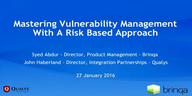 Mastering Vulnerability Management with A Risk-based Approach