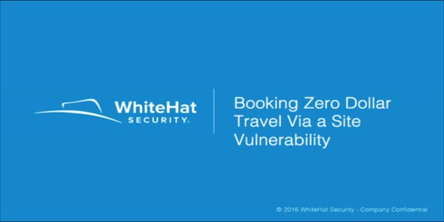 Vulnerability Discovery: Booking Zero Dollar Travel Via a Site