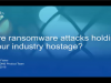 Are ransomware attacks holding the healthcare industry hostage?