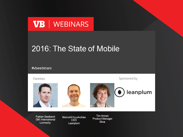 2016: The state of mobile