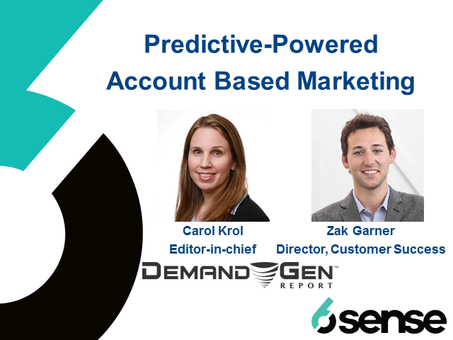 Predictive-Powered Account Based Marketing