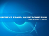 Procurement Fraud: Using SAS to effectively address an important area of Insider