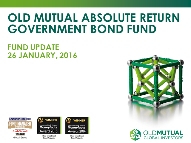 Old Mutual Mutual Absolute Return Government Bond Fund monthly update